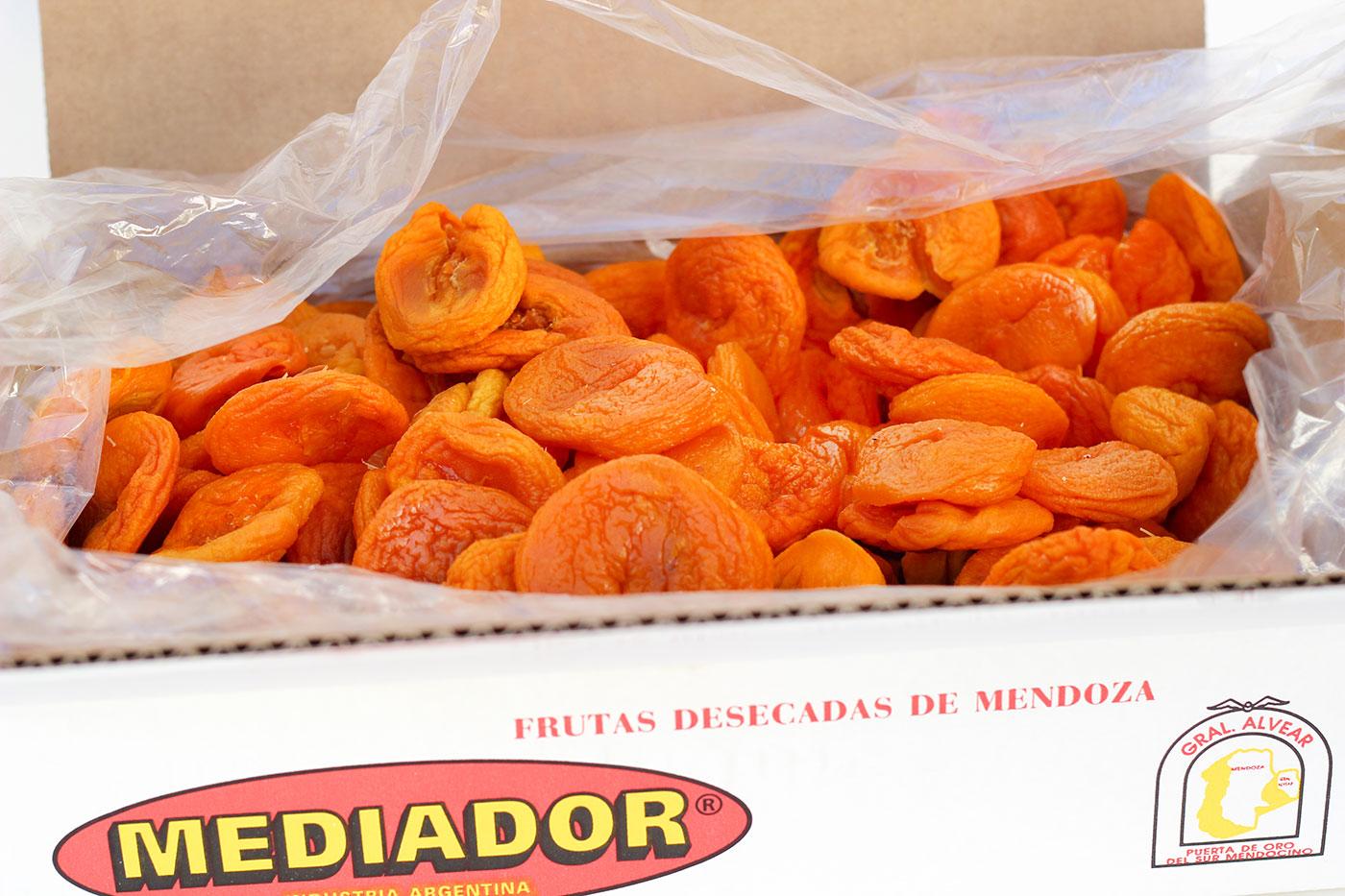 packing durazno seco sin carozo